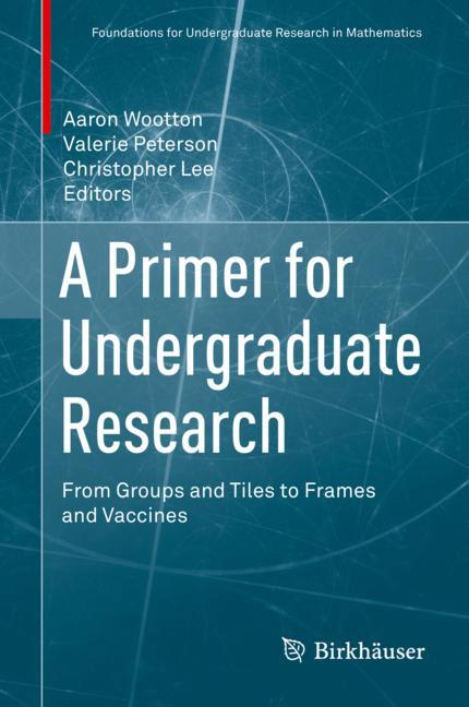 Cover of 'A Primer for Undergraduate Research'