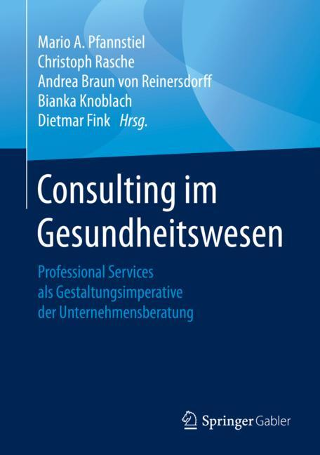 Cover of 'Consulting im Gesundheitswesen'