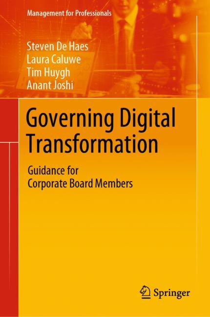 Cover of 'Governing Digital Transformation'