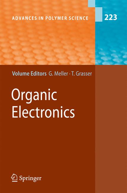 Cover of 'Organic Electronics'