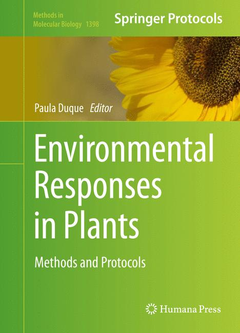 Cover of 'Environmental Responses in Plants'