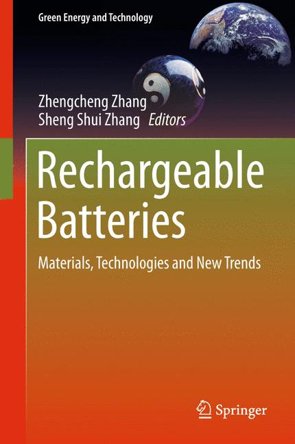 Cover of 'Rechargeable Batteries'