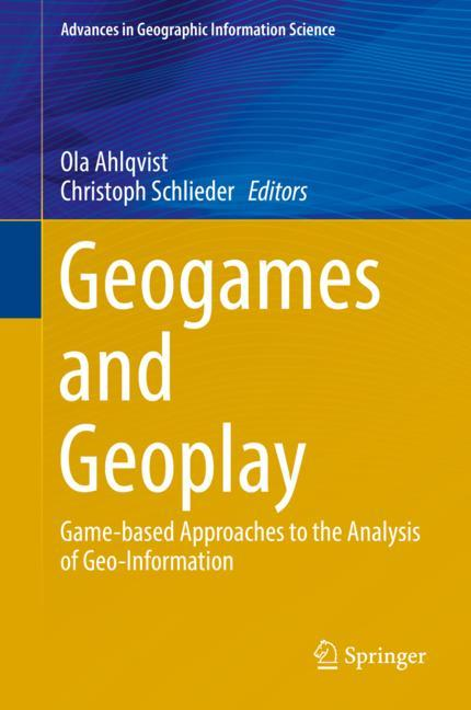 Cover of 'Geogames and Geoplay'