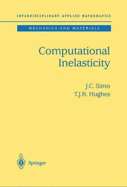 Cover of 'Computational Inelasticity'