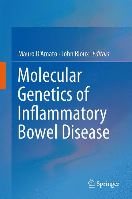 Cover of 'Molecular Genetics of Inflammatory Bowel Disease'