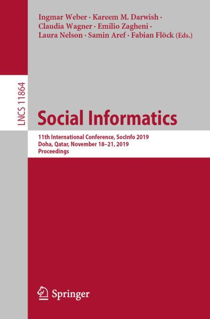 Cover of 'Social Informatics'