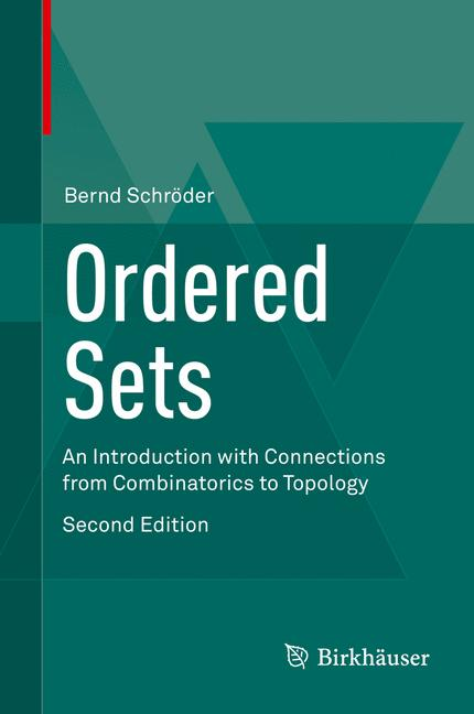 Cover of 'Ordered Sets'