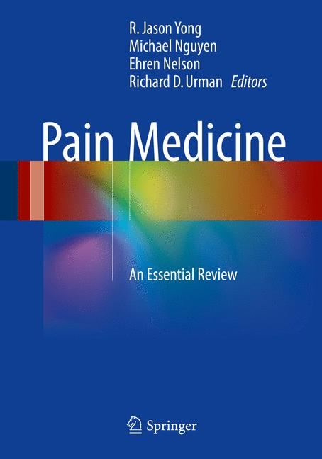 Cover of 'Pain Medicine'