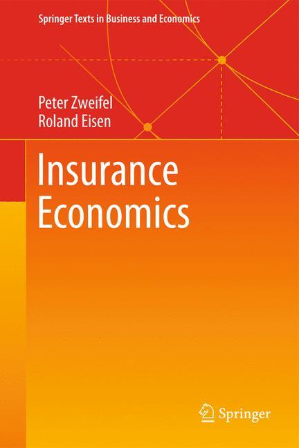 Cover of 'Insurance Economics'