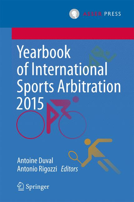Cover of 'Yearbook of International Sports Arbitration 2015'