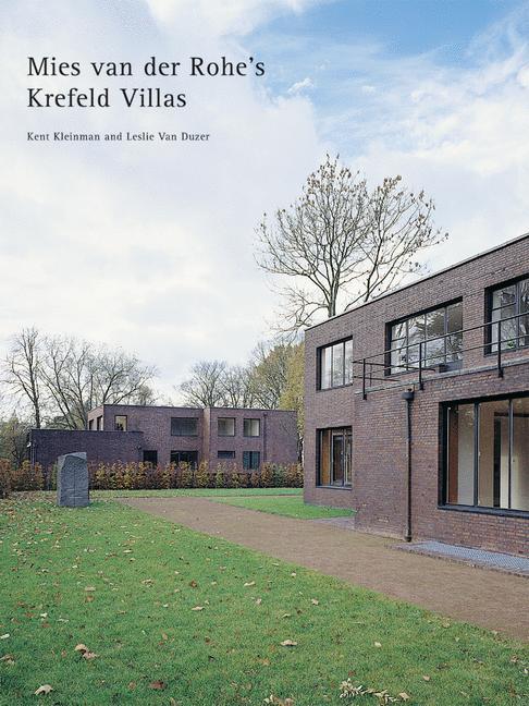 Cover of 'Mies van der Rohe The Krefeld Villas'