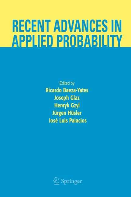 Cover of 'Recent Advances in Applied Probability'