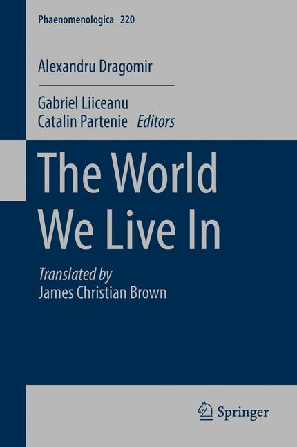 Cover of 'The World We Live In'