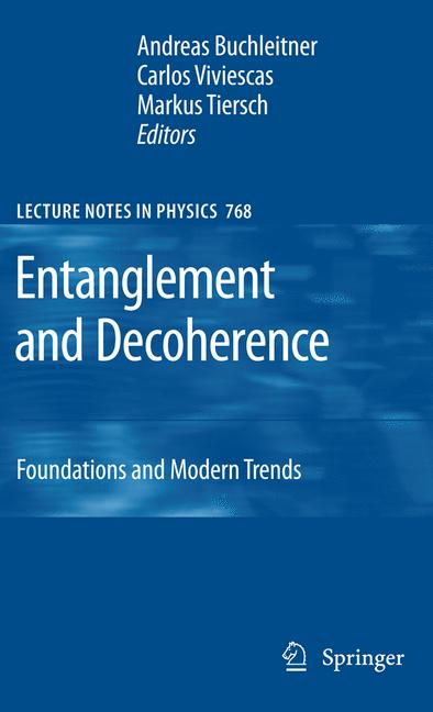 Cover of 'Entanglement and Decoherence'