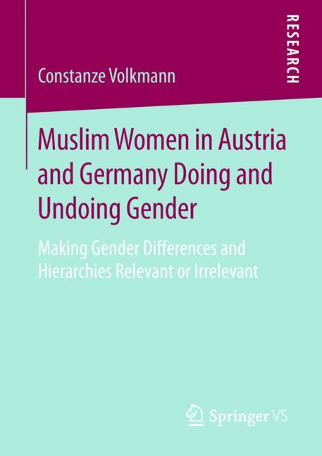 Cover of 'Muslim Women in Austria and Germany Doing and Undoing Gender'