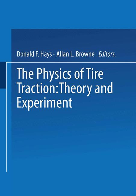 Cover of 'The Physics of Tire Traction'