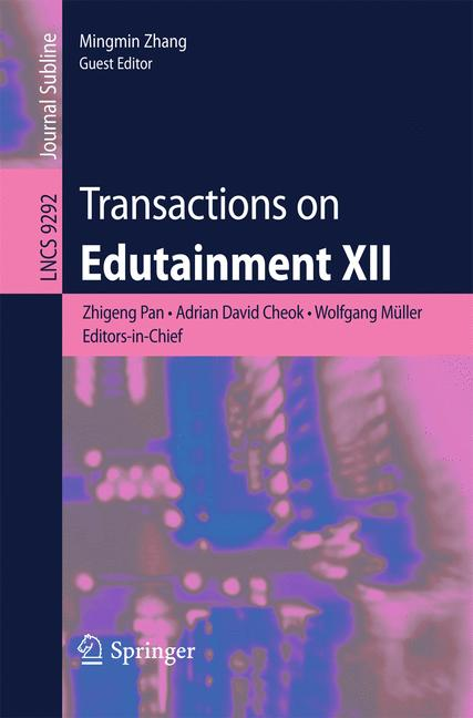 Cover of 'Transactions on Edutainment XII'