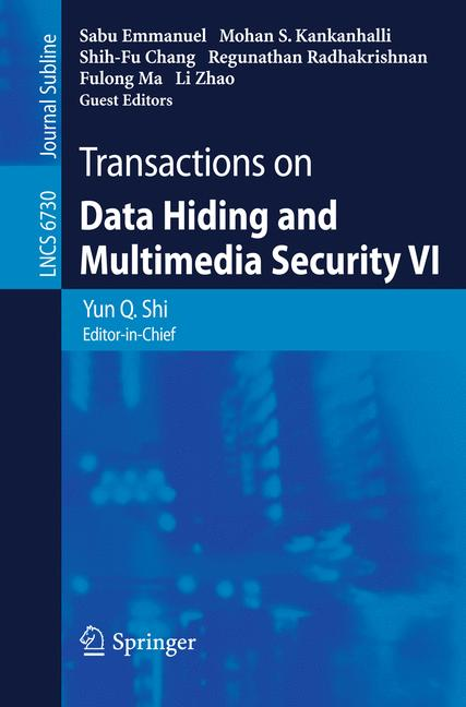 Cover of 'Transactions on Data Hiding and Multimedia Security VI'