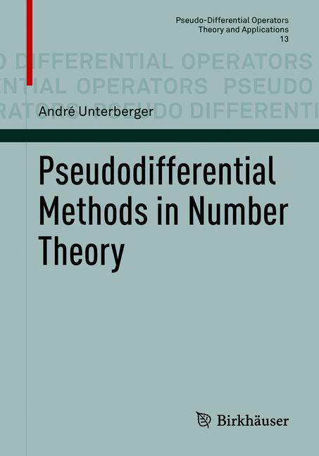 Cover of 'Pseudodifferential Methods in Number Theory'