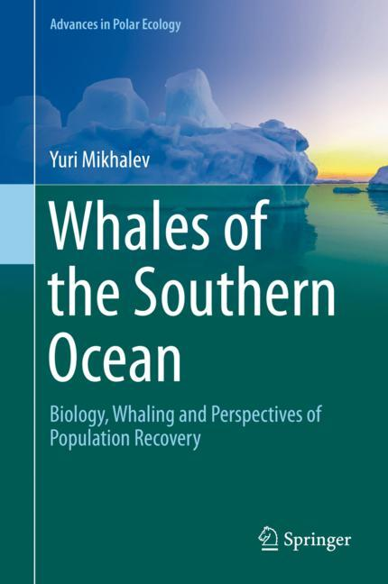 Cover of 'Whales of the Southern Ocean'