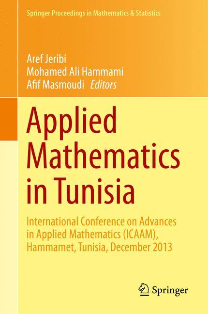 Cover of 'Applied Mathematics in Tunisia'