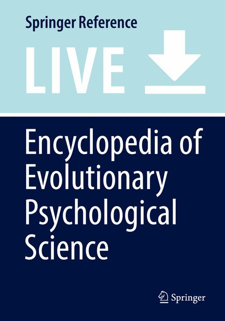 Cover of 'Encyclopedia of Evolutionary Psychological Science'