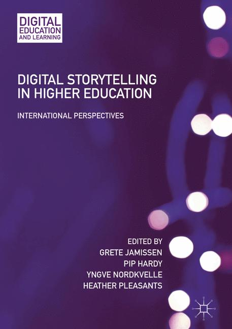 Cover of 'Digital Storytelling in Higher Education'