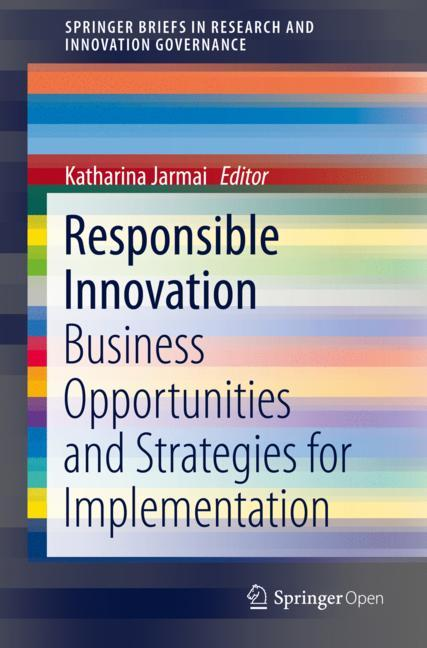 Cover of 'Responsible Innovation'