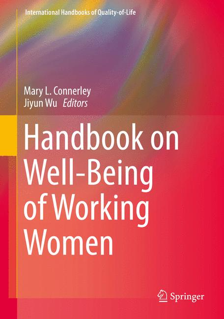 Cover of 'Handbook on Well-Being of Working Women'