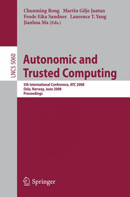 Cover of 'Autonomic and Trusted Computing'