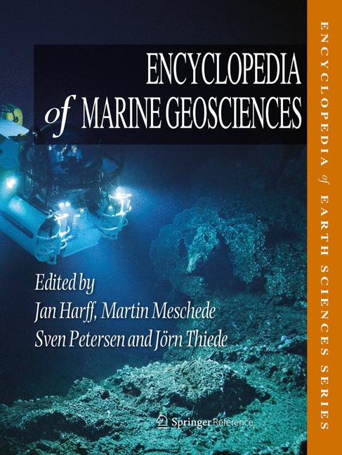 Cover of 'Encyclopedia of Marine Geosciences'