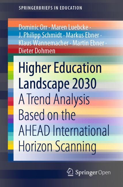 Cover of 'Higher Education Landscape 2030'