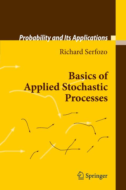 Cover of 'Basics of Applied Stochastic Processes'