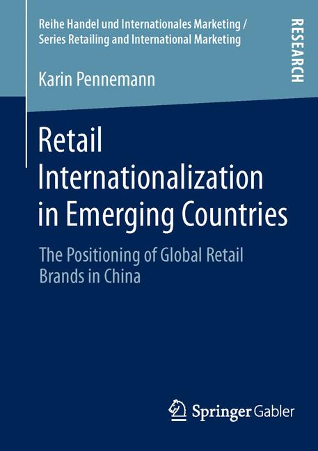 Cover of 'Retail Internationalization in Emerging Countries'