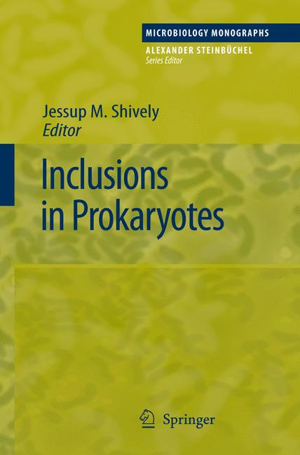 Cover of 'Inclusions in Prokaryotes'