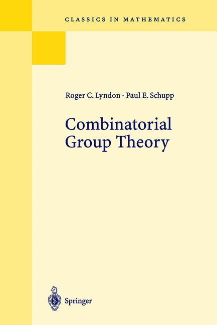 Cover of 'Combinatorial Group Theory'