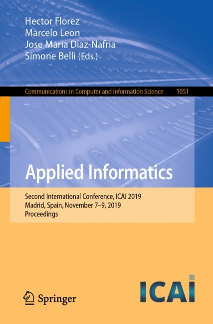 Cover of 'Applied Informatics'