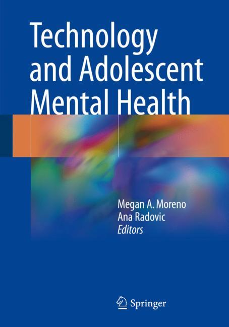 Cover of 'Technology and Adolescent Mental Health'