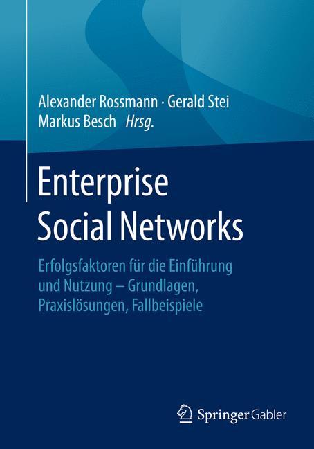 Cover of 'Enterprise Social Networks'