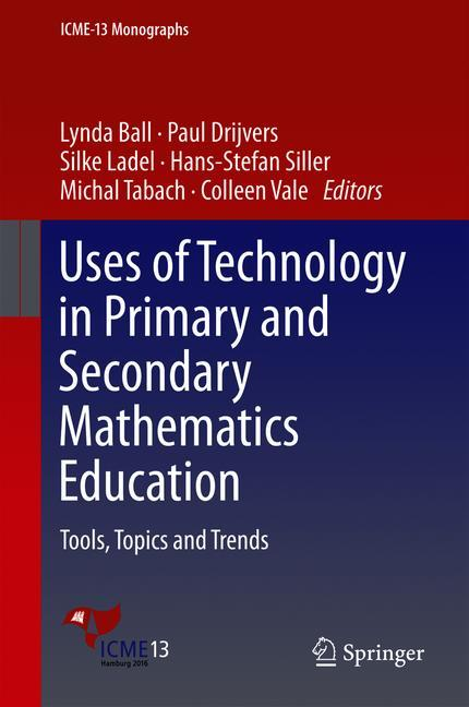 Cover of 'Uses of Technology in Primary and Secondary Mathematics Education'
