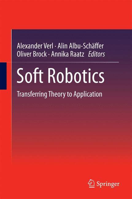 Cover of 'Soft Robotics'
