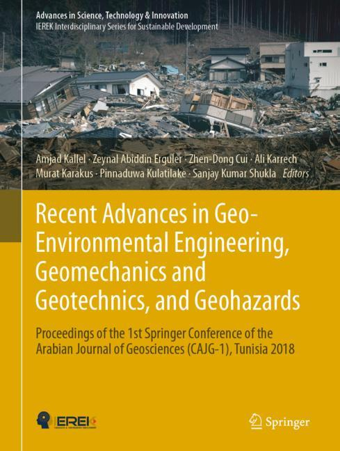 Cover of 'Recent Advances in Geo-Environmental Engineering, Geomechanics and Geotechnics, and Geohazards'