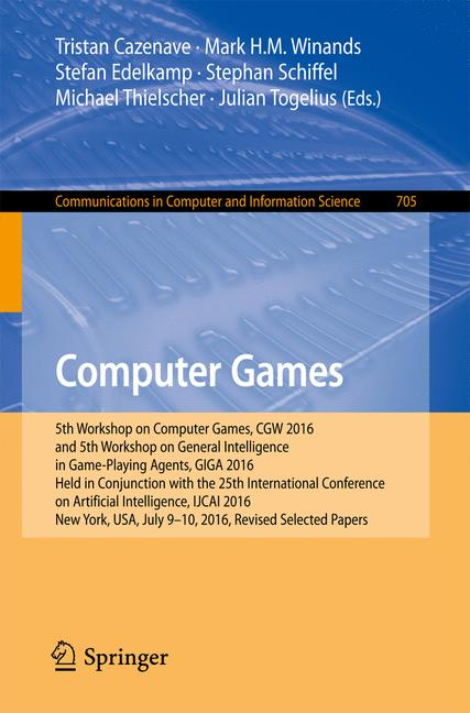 Cover of 'Computer Games'