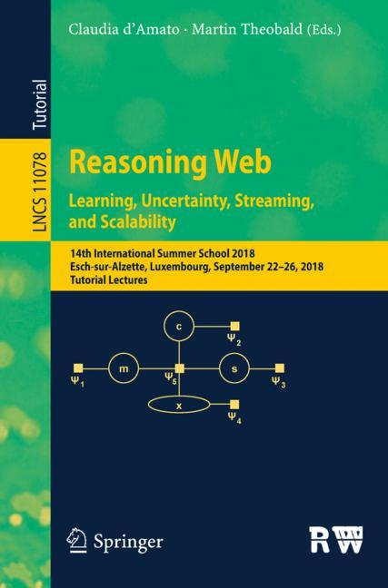 Cover of 'Reasoning Web. Learning, Uncertainty, Streaming, and Scalability'