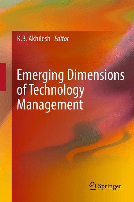 Cover of 'Emerging Dimensions of Technology Management'
