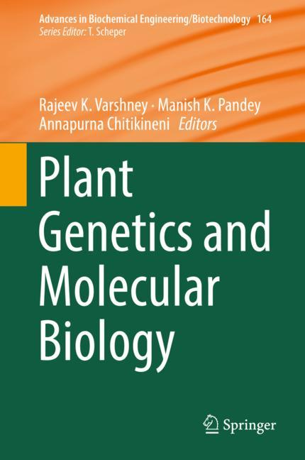 Cover of 'Plant Genetics and Molecular Biology'