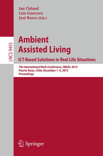 Cover of 'Ambient Assisted Living. ICT-based Solutions in Real Life Situations'