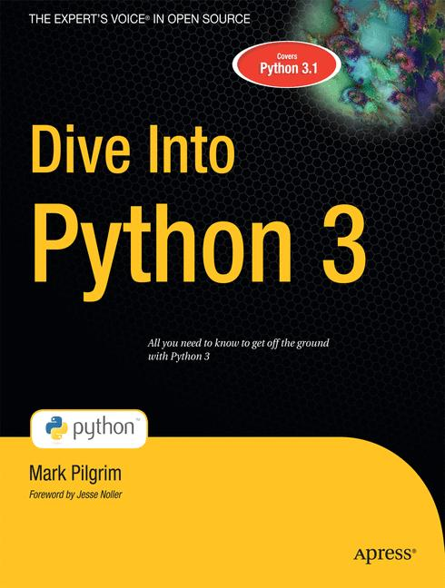 Cover of 'Dive Into Python 3'