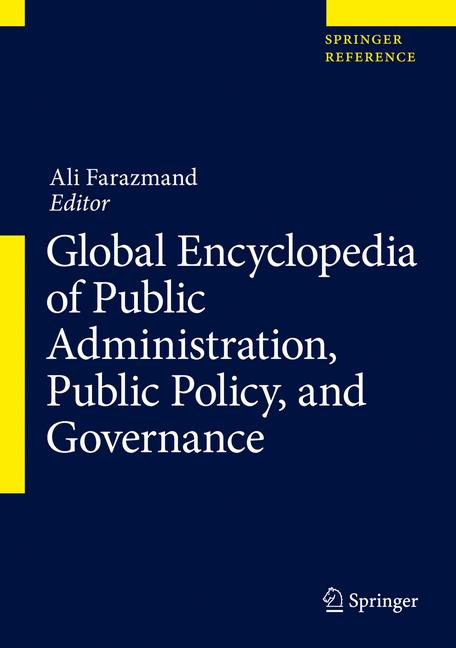 Cover of 'Global Encyclopedia of Public Policy and Public Administration'