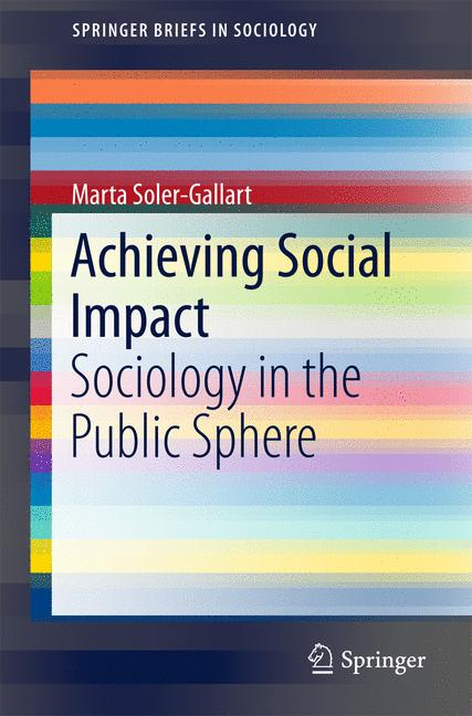Cover of 'Achieving Social Impact'